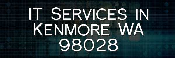 IT Services in Kenmore WA 98028